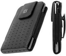 Leather Case with Fixed Swivel Clip for Apple iPhone 4/4s Holster Pouch
