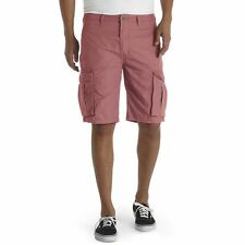 New Levi's Men's Ace Ripstop Cargo Shorts Faded Red Relaxed Fit Size 33
