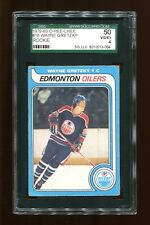 1979-80 O-Pee-Chee Set Break # 18 Wayne Gretzky Rookie SGC 50 VG/EX 4 c12753