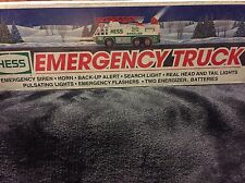 1996 HESS EMERGENCY TRUCK (w/siren and horn). NEW IN BOX