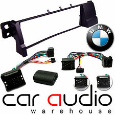 BMW 3 Series E46 Pioneer Car Stereo Facia & Steering Wheel Interface Kit CTKBM07