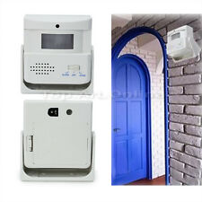 Useful Wireless Door Bell Welcome Alarm Chime Motion Sensor Detector Shop Home