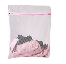 40 x 50cm zipped Laundry Washing Bag Net Mesh Socks Bra Clothes Machine