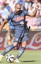 NAPOLI: GOKHAN INLER SIGNED 6x4 ACTION PHOTO+COA