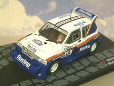 DETAILED PART WORK 1/43 MG METRO 6R4 #15 LOMBARD RAC RALLY 1986 MCRAE/GRINDROD