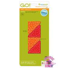 "55147- Accuquilt GO! Baby Half Square 2.25 inch 2 1/4"" Applique Quilt Dog Eared"