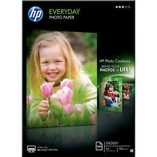 Genuine HP Everyday Photo Paper Glossy 200gsm A4 100 Sheets (Q2510A)