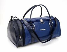 HEAD Monte Carlo Faux Leather Holdall in Denim colour