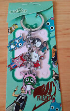FAIRY TAIL HAPPY CHARLE PANTHERLILY LECTOR FROSCH  KEY CHAIN LLAVERO  NEW