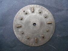 cadran montre tactile braille metal argenté ou argent diam 43mm