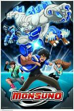 Monsuno Blue POSTER 60x90cm NEW * Chase Suno Bren Jinja Lock Quickforce Charger