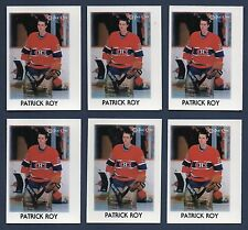 Lot of 6 1987-1988 O-PEE-CHEE Minis #36 Patrick Roy Montreal Canadiens NM NM-MT