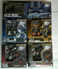 Fansproject 2013 Crossfire Set Of 5 Complete Transformers Menasor