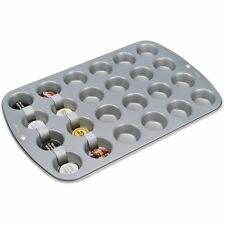 Mini Muffin Pan 24 Cup Cake Baking Steel Cupcake Bakeware Non Stick Mold Bakery