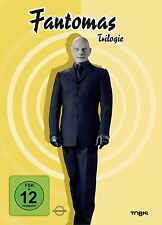 Louis de Funes FANTOMAS TRILOGY against Interpol THREATENED DIE WELT 3 DVD Box
