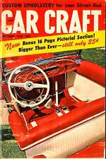 CAR CRAFT OCT 1958,CUSTOM UPHOLSTERY,PICTORIAL SECTION,OCTOBER,HOT ROD MAGAZINE