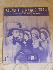 Partitions anciennes de le long de la piste Navajo, par L. markes & D. CHARLES - 1945