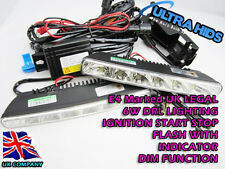 6 LED DRL LIGHTING INDICATOR FLASH ENGINE IGNITION START KIT WHITE BRIGHT AUDI