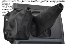 BLACK STITCHING FITS NISSAN PATROL Y60 LEATHER GEAR GAITER SHIFT BOOT ONLY