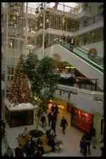 673000 Shopping Center With Christmas Decorations England A4 Photo Print