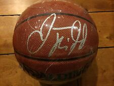Jason Kidd autographed Spalding NBA Basketball signed nets mavs suns bucks knick
