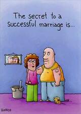 Successful Marriage Funny Anniversary Card - Greeting Card by Oatmeal Studios