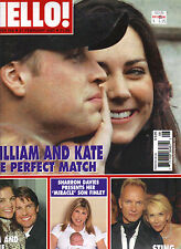 KATE MIDDLETON PRINCE WILLIAM UK Hello Magazine 2/27/07 #958 ROBBIE WILLIAMS