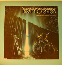 "OST - SOUNDTRACK - EXPLORERS - JERRY GOLDSMITH  12""  LP (L537)"