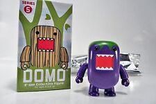 "DOMO 2"" Qee Series 5 FIGURE - PURPLE Green HAIR TOP  - DOMO Toy2R"