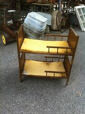 Vintage Wood Doll Bunk Bed Set 1950s 40s