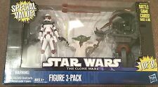 Star Wars Figure 3-Pack  Lieutenant Thire, Yoda and Destroyer Droid