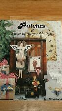 PATCHES & PIECES OF FORGET-ME-NOT by NONA GOBEL    PB