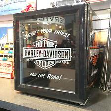 Harley-Davidson Mini Fridge Compact Beverage Cooler Refrigerator HDL-17006