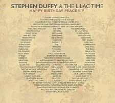 Happy Birthday Peace, Stephen Duffy & The Lilac Time, New EP