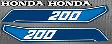1982 82 ATC 200 honda 4pc Gas Tank Graphics decals stickers ATV 3 wheeler trike