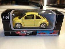 Dickie 1:60 scale VW New Beetle Käfer - yellow