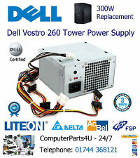 Replacement Dell Vostro 260 Tower 300W Power Supply Unit - 3 Months Warranty PSU