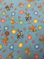 Springs Creative - Patchwork / Quilting Fabric - Carousel Balloon  - 100% Cotton