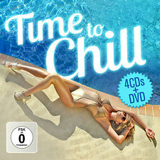 CD DVD Time To Chill von Various Artists 4CDs und DVD