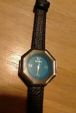 Vintage Terner ladies watch, running with new battery/leather Band NR A
