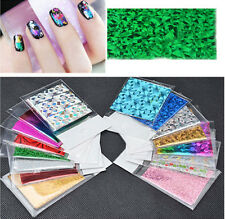 50pcs Smooth Nail Art Sticker Water Transfer Symphony Foils Armour Wraps Craft
