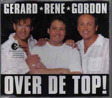 Gerard Rene Gordon-Over De Top cd maxi single (De Toppers)