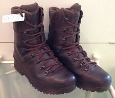 Haix Brown MTP Gore-Tex Waterproof Army Issue Wet Weather Hiking Boots 7M HX77M