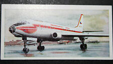 CSA  Tupolev TU 104A   Airliner   1960's Illustrated Card # VGC