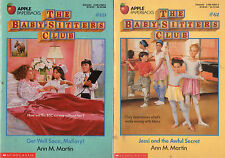 Partial Set Series - Lot of 30 Baby-Sitters Club books by Ann Martin (#61-90) YA