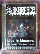 SKARFACE - LIVE IN MOSCOW 9.4.2004 - DVD 2005 UNPLAYED ska selecter specials
