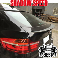 Unpainted Performance Type Rear Trunk Lid Spoiler Wing For BMW X-series E71 X6 ✪