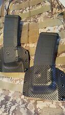 2 Mag pouches fits  AR .223 & 5.56,  Magpul & milspec mags carbon Fiber , Kydex.