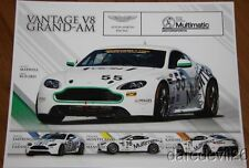 2013 Multimatic Motorsports Aston Martin Vantage GS Continental Tire postcard