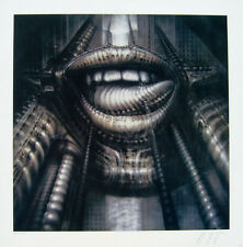 ELP XI Print by H.R. Giger signed and  numbered limited edition print of 495